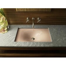 "Iron/Tones Cast Iron Undercounter/Self-Rimming Lavatory, 16-3/8"" X 15-5/8"""