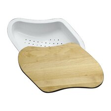 "Colander/Cutting Board Fits 9-1/4"" X 15-3/8"" Basin"