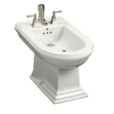 Memoirs Bidet, Plumbed for Vertical Spray Bidet Faucet