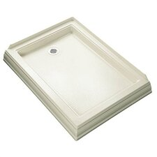 "Memoirs 48"" x 34"" Shower Receptor with Right-Hand Drain"