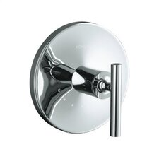 Purist Thermostatic Valve Trim with Lever Handle, Valve Not Included