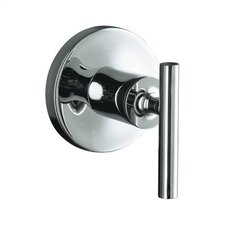 Purist Volume Control Valve Trim with Lever Handle, Valve Not Included
