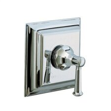 Memoirs Rite-Temp Pressure-Balancing Valve Trim with Stately Design and Lever Handle, Valve Not Included