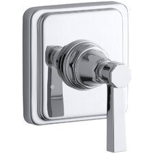 Pinstripe Pure Transfer Faucet Trim, Lever Handle
