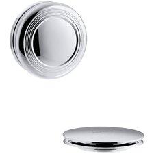 Pureflo Traditional Push Button Bath Drain Trim