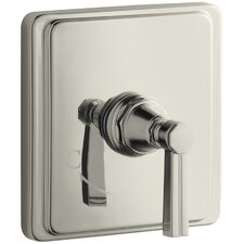 Pinstripe Thermostatic Valve Trim, Valve Not Included