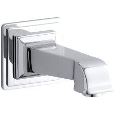 """Pinstripe Pure Wall-Mount, 6-7/8"""" Non-Diverter Bath Spout"""