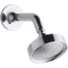 Purist 2.5 GPM Single-Function Wall-Mount Showerhead with Arm and Flange