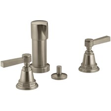 Pinstripe Pure Bidet Faucet with Lever Handles