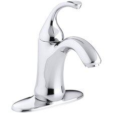 Forté Single-Hole Bathroom Faucet with Sculpted Lever Handle