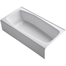"""Villager 60"""" X 31"""" Alcove Bath with Integral Apron and Right-Hand Drain"""