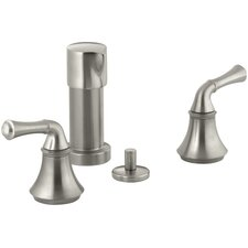 Forté Bidet Faucet with Traditional Lever Handles