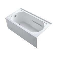 "Devonshire 60"" X 32"" Alcove Bath with Integral Apron, Tile Flange and Left-Hand Drain"