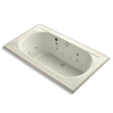 "Memoirs 72"" X 42"" Drop-In Effervescence + Whirlpool with Spa Package"