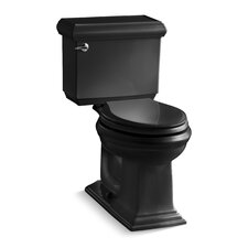 Memoirs Classic Comfort Height Two-Piece Elongated 1.28 Gpf Toilet with AquaPiston Flush Technology and Left-Hand Trip Lever