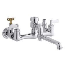 Service sink faucet