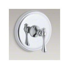 Revival Thermostatic Valve Trim with Traditional Lever Handle, Valve Not Included