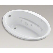 "Sunward 60"" X 42"" Drop-In Whirlpool Bath with Reversible Drain, Heater and Custom Pump Location"