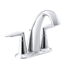 Alteo Centerset Bathroom Sink Faucet with Lever Handles