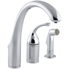 Forté Single-Control Remote Valve Kitchen Faucet with Sidespray and Lever Handle