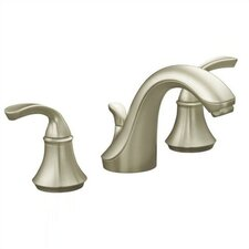 <strong>Kohler</strong> Forte Widespread Bathroom Faucet with Ultra-Glide Valve Technology with Plastic Pop-Up Drain Assembly