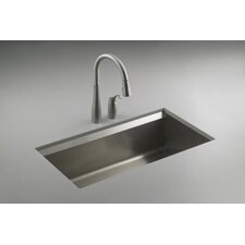 "8 Degree 33"" X 18"" X 10"" Under-Mount Large Single-Bowl Kitchen Sink"