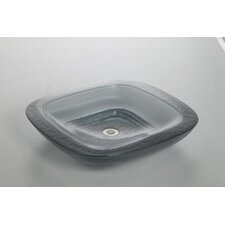 Toric Cast Glass Plain Vessels Lavatory