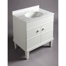 "Evandale 30"" Combo Bathroom Vanity Set"