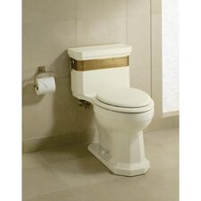 Kathryn Saree Comfort Height One-Piece Elongated 1.6 Gpf Toilet with Ingenium Flush Technology and Left-Hand Trip Lever