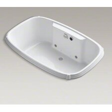 "Portrait Bubblemassage 67"" X 42"" Drop-In Whirlpool Bath with Chromatherapy"