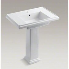 "<strong>Kohler</strong> Tresham 30"" Pedestal Lavatory with Single-Hole Drilling"