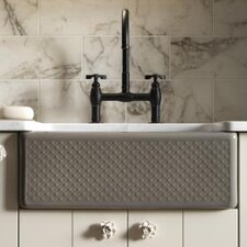 "Evenweave Design On Alcott 25"" X 22"" X 8-5/8"" Under-Mount Kitchen Sink with 5 Faucet Holes"