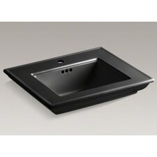 Memoirs Stately Bathroom Sink Basin with Single Faucet Hole