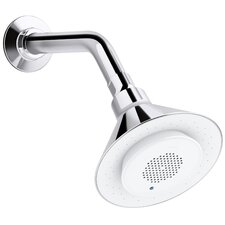 Moxie 2.5 Gpm Single-Function Showerhead with Wireless Speaker