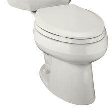Wellworth Pressure Lite Elongated 1.0 Gpf Toilet with Left-Hand Trip Lever, Less Seat