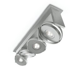 Orbit 4 Light Semi Flush Mount