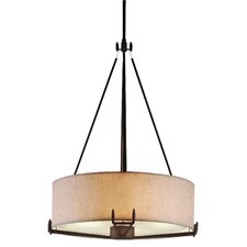 Urban Oasis 2 Light Drum Pendant