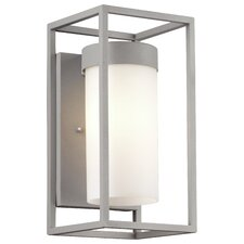Cube 1 Light Outdoor Wall Sconce