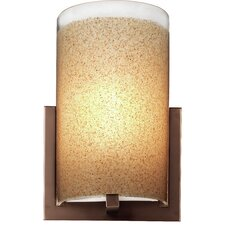 "7"" Bow Glass Cylindrical Shade"
