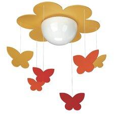 Butterfly 1 Light Pendant