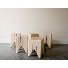 <strong>Kalon Studios</strong> Stump and Trunk Solid Wood Bench