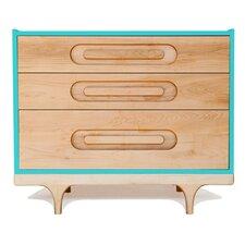 Caravan 3 Drawer Dresser