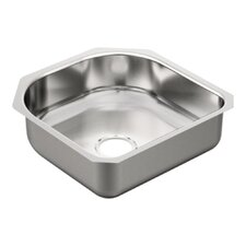 """2000 Series 20"""" x 20"""" Single Bowl Kitchen Sink"""