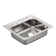 "2000 Series 25"" x 22"" Single Bowl Drop in Kitchen Sink"