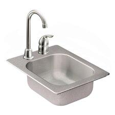 """2000 Series 13"""" x 17"""" Bowl Drop in Kitchen Sink"""