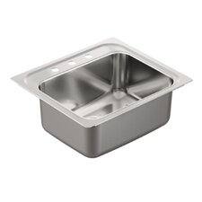 "<strong>Moen</strong> 1800 Series 30.13"" x 24"" Single Bowl Drop in Kitchen Sink"
