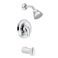 <strong>Moen</strong> Chateau Posi-Temp Thermostatic Tub and Shower Faucet Valve with Lever Handle