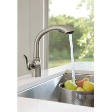 <strong>Moen</strong> Arbor One Handle High Arc Kitchen Faucet