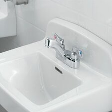 <strong>Moen</strong> M-Dura Two Handle Centerset Lead Compliant Bathroom Faucet