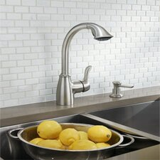 Finley One Handle High Arc Lead Compliant  Kitchen Faucet